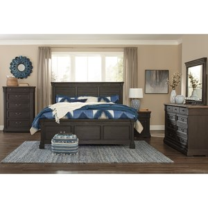 Signature Design by Ashley Tyler Creek Queen Bedroom Group