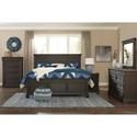 Signature Design by Ashley Tyler Creek Queen Bedroom Group - Item Number: B736 Q Bedroom Group 6