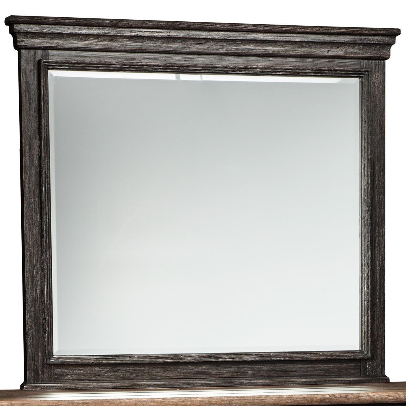 Signature Design by Ashley Tyler Creek Bedroom Mirror - Item Number: B736-36