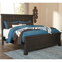 Signature Design by Ashley Tyler Creek Queen Panel Bed with Lattice Panels