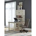Signature Design by Ashley Bolanburg Return Desk with Bookcase