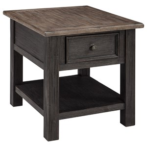 Signature Design by Ashley Tyler Creek Rectangular End Table