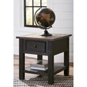 Signature Design by Ashley Tyler Creek Rectangular End Table with Drawer