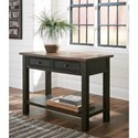 Signature Design by Ashley Tyler Creek Sofa Table with 2 Drawers