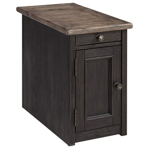 Signature Design by Ashley Tyler Creek Chair Side End Table
