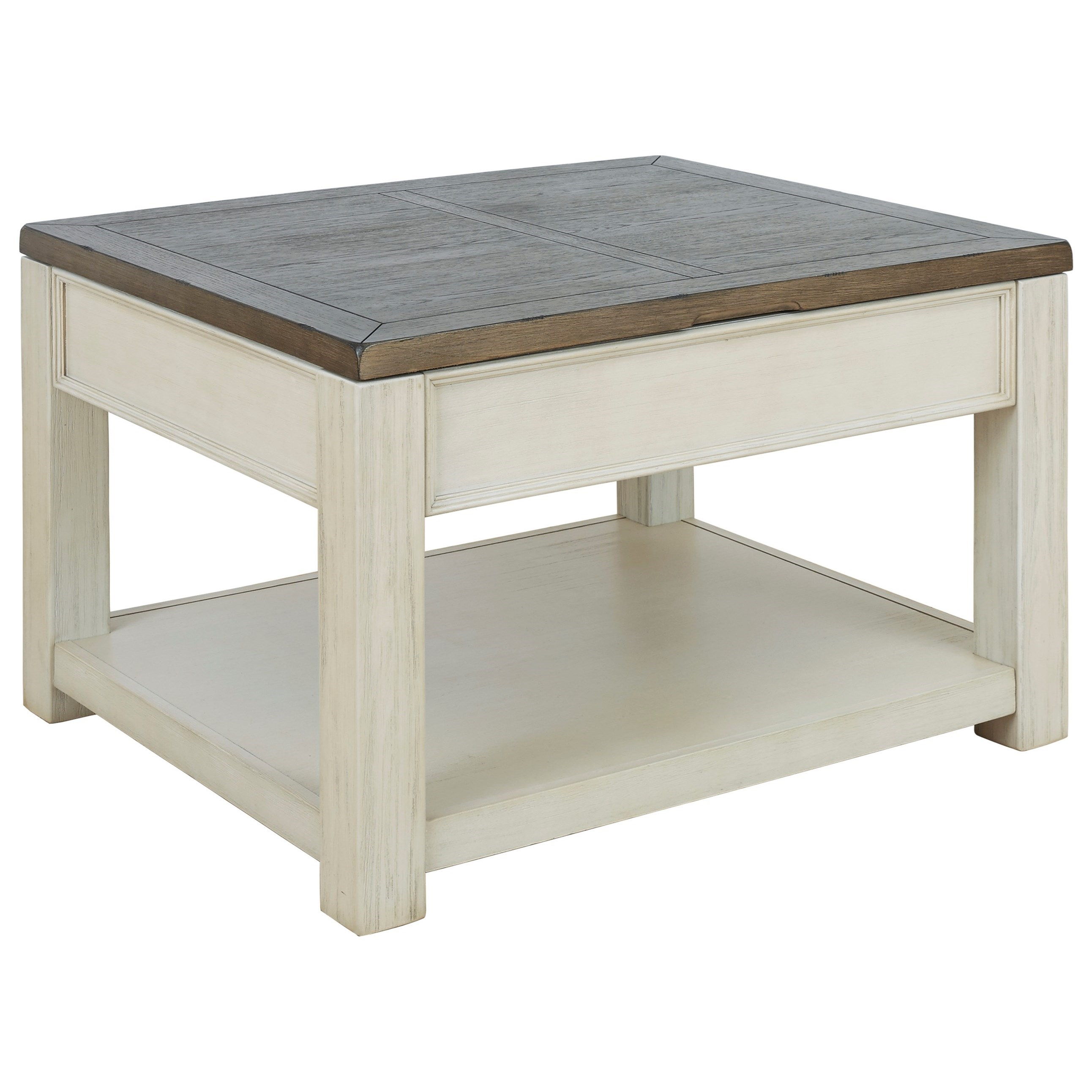 Bolanburg Rectangular Lift Top Cocktail Table by Ashley (Signature Design) at Johnny Janosik