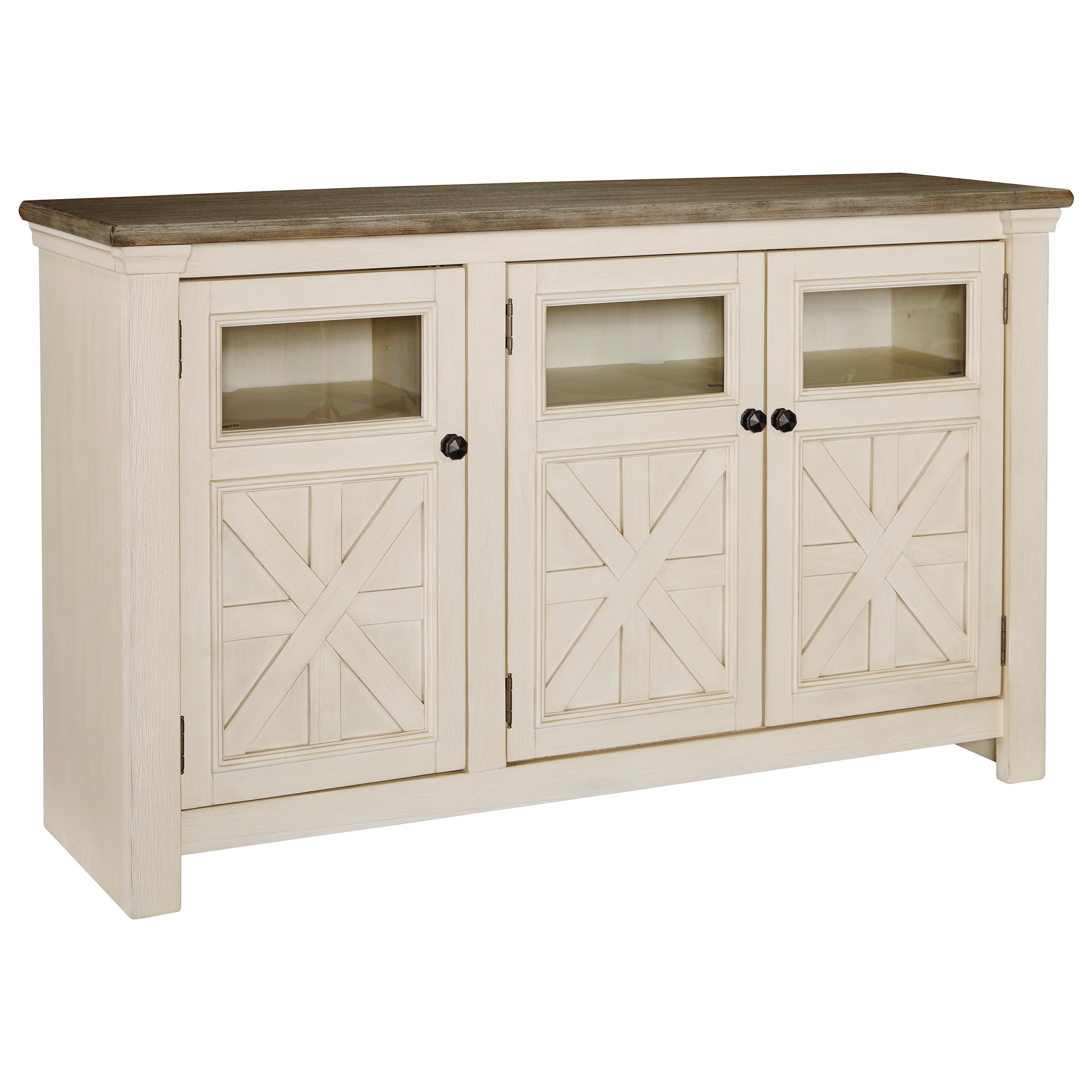 Bolanburg Large TV Stand by Signature Design by Ashley at Zak's Warehouse Clearance Center