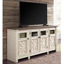 Signature Design by Ashley Bolanburg Extra Large TV Stand - Item Number: W647-60