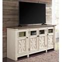 Ashley Signature Design Bolanburg Extra Large TV Stand - Item Number: W647-60