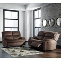 Signature Design by Ashley Bolzano Reclining Living Room Group - Item Number: 93802 Living Room Group 1