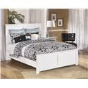 Signature Design by Ashley Bostwick Shoals Twin Panel Bed, Nightstand and Chest Package - Item Number: 547313990