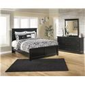 Signature Design by Ashley Maribel Queen Panel Bed, Dresser and Mirror Package - Item Number: 573313889