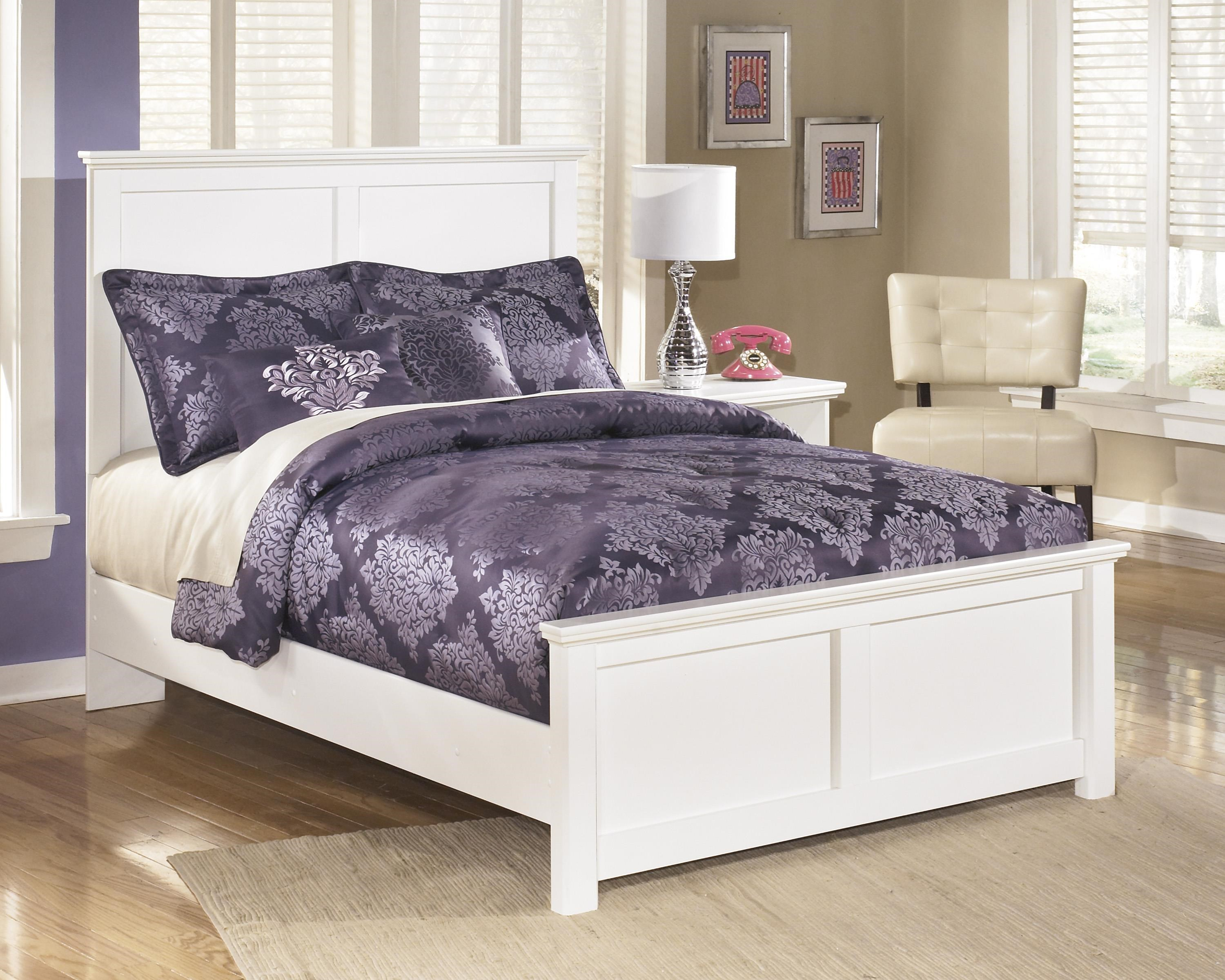 Twin Panel Headboard, Chest and Nightstand P