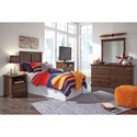 Signature Design by Ashley Burminson Twin Bedroom Group - Item Number: B135 T Bedroom Group 3