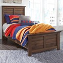 Signature Design by Ashley Burminson Twin Panel Bed - Item Number: B135-53+52+83