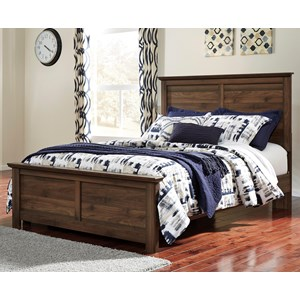 Signature Design by Ashley Burminson Queen Panel Bed