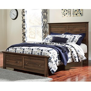 Signature Design by Ashley Burminson Queen Storage Bed