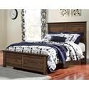 Signature Design by Ashley Burminson Queen Storage Bed - Item Number: B135-57+54S+95+B100-13