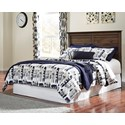 Signature Design by Ashley Burminson Queen/Full Panel Headboard - Item Number: B135-57