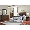 Signature Design by Ashley Burminson Queen/Full Simple Panel Headboard