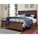 Signature Design by Ashley Burminson King Panel Bed - Item Number: B135-58+56+97