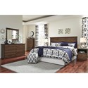 Signature Design by Ashley Burminson King/California King Panel Headboard with Classic Moulding