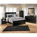 Signature Design by Ashley Maribel Queen Bedroom Group - Item Number: B138 5-PC Q Bedroom Group