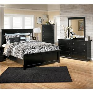 Signature Design by Ashley Maribel 4 Piece Queen Bedroom Group