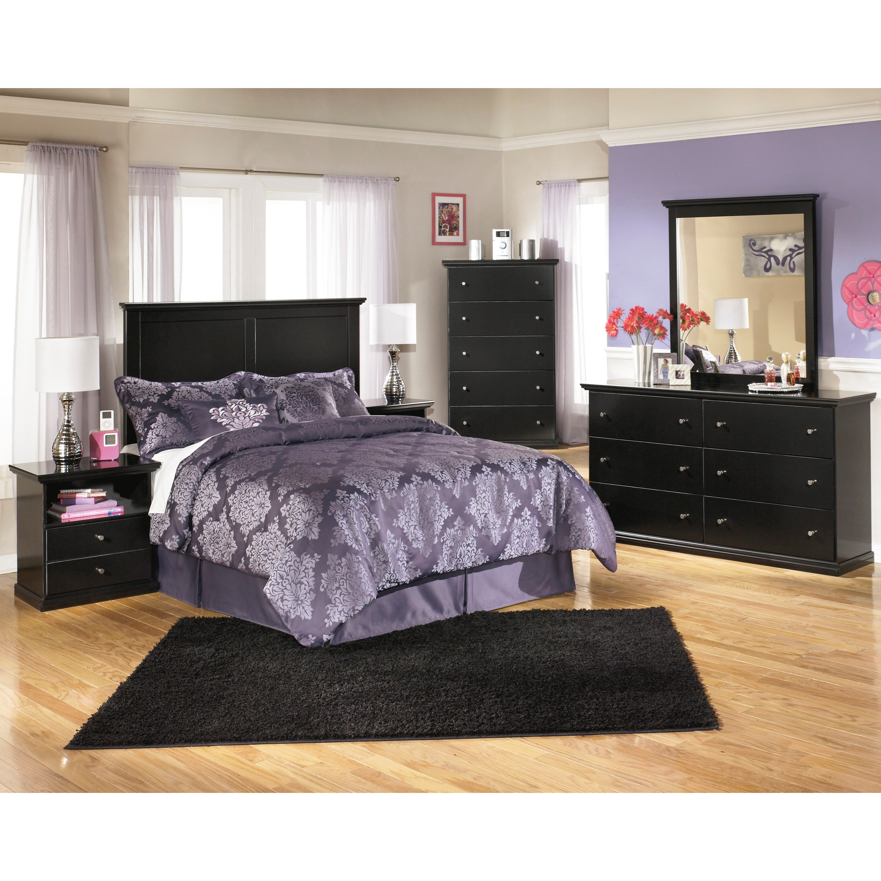 Signature Design by Ashley Maribel Twin Bedroom Group - Item Number: B138 T Bedroom Group 4
