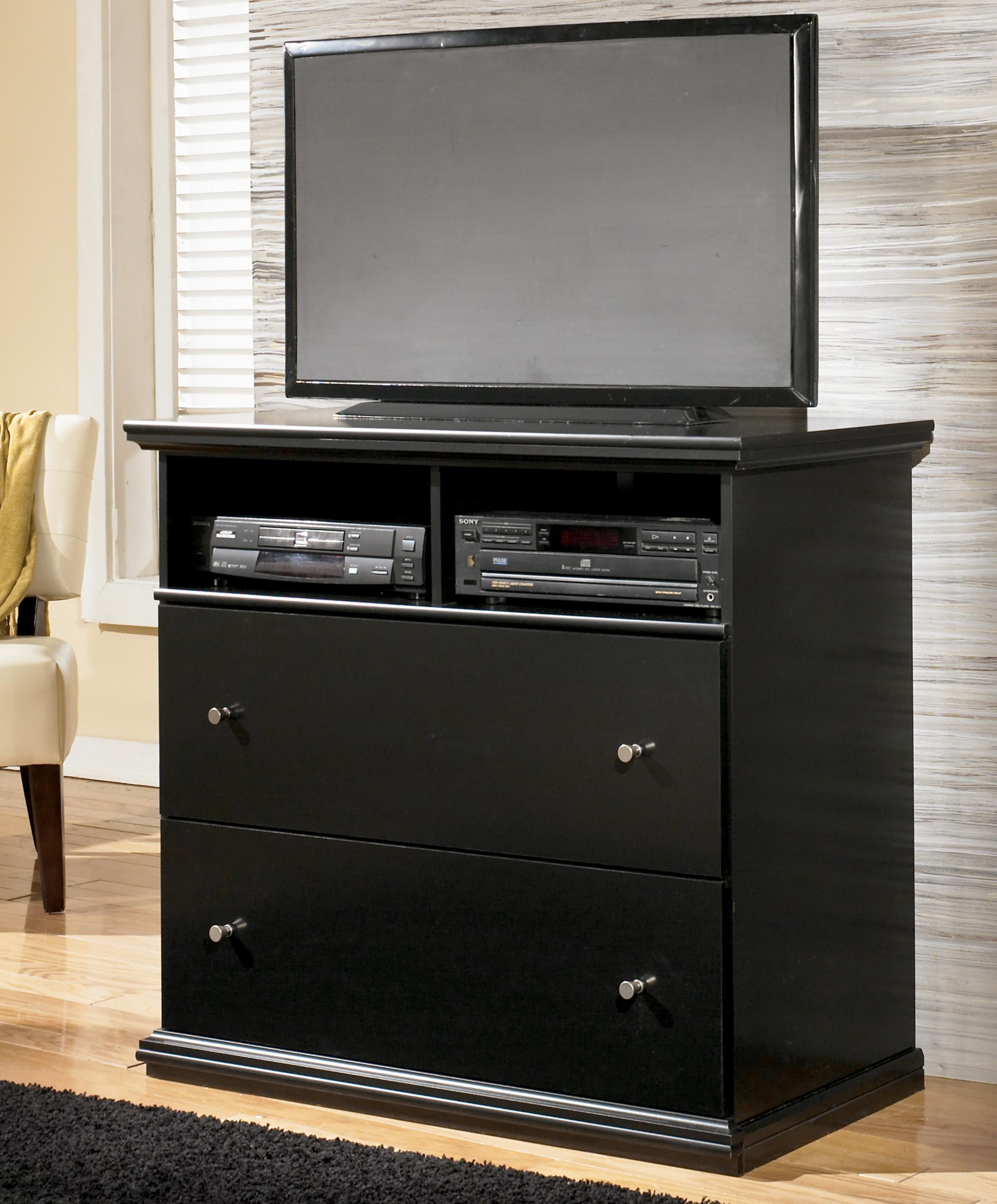 Signature Design by Ashley Maribel 2-Drawer Media Chest - Item Number: B138-38