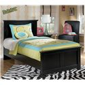 Signature Design by Ashley Maribel Twin Panel Bed - Item Number: B138-53+52