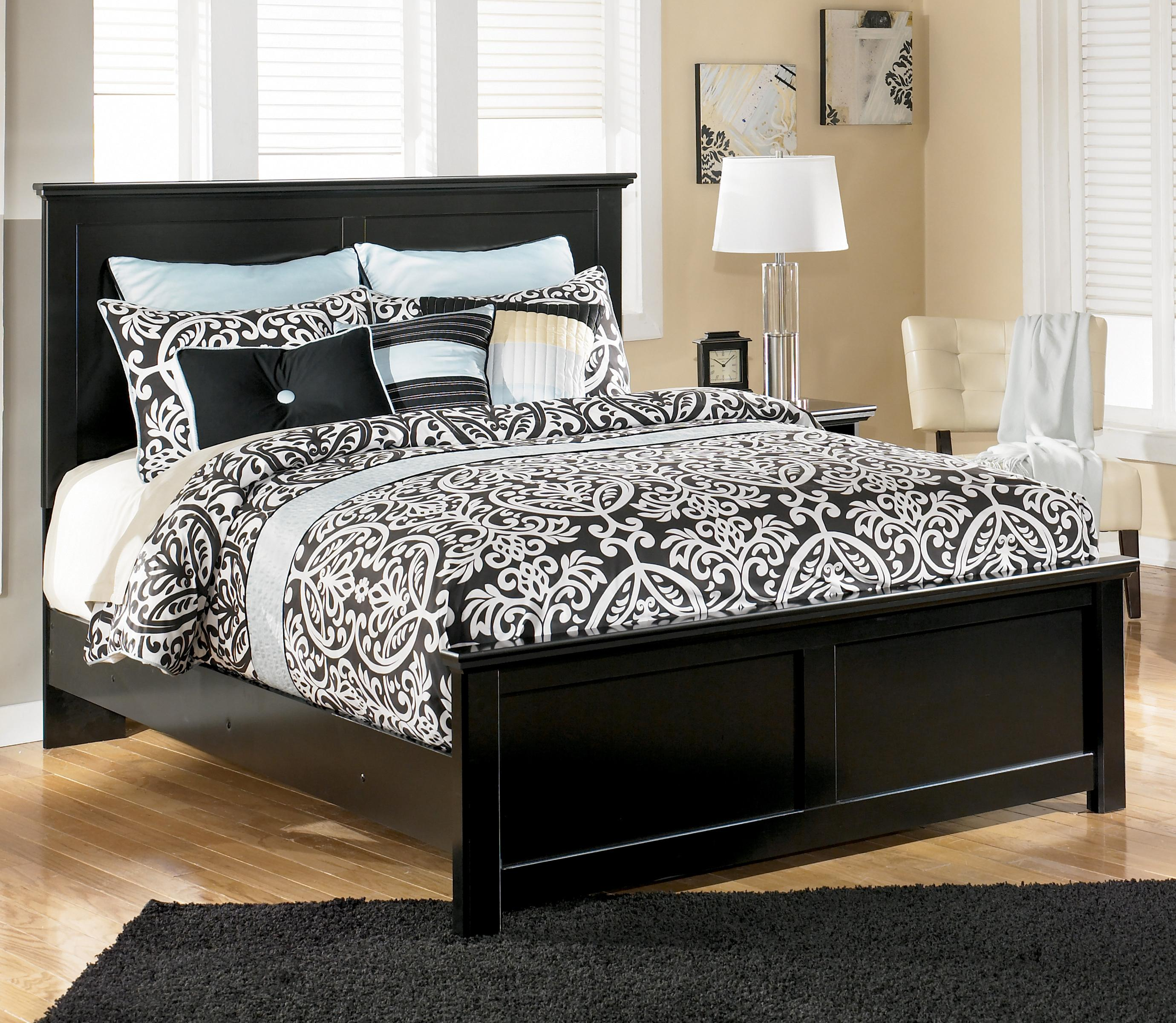 Signature Design by Ashley Maribel Queen Panel Bed - Item Number: B138-57+54