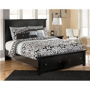 Signature Design by Ashley Maribel Queen Storage Bed