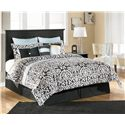 Signature Design by Ashley Maribel King/Cal King Panel Headboard - Item Number: B138-58