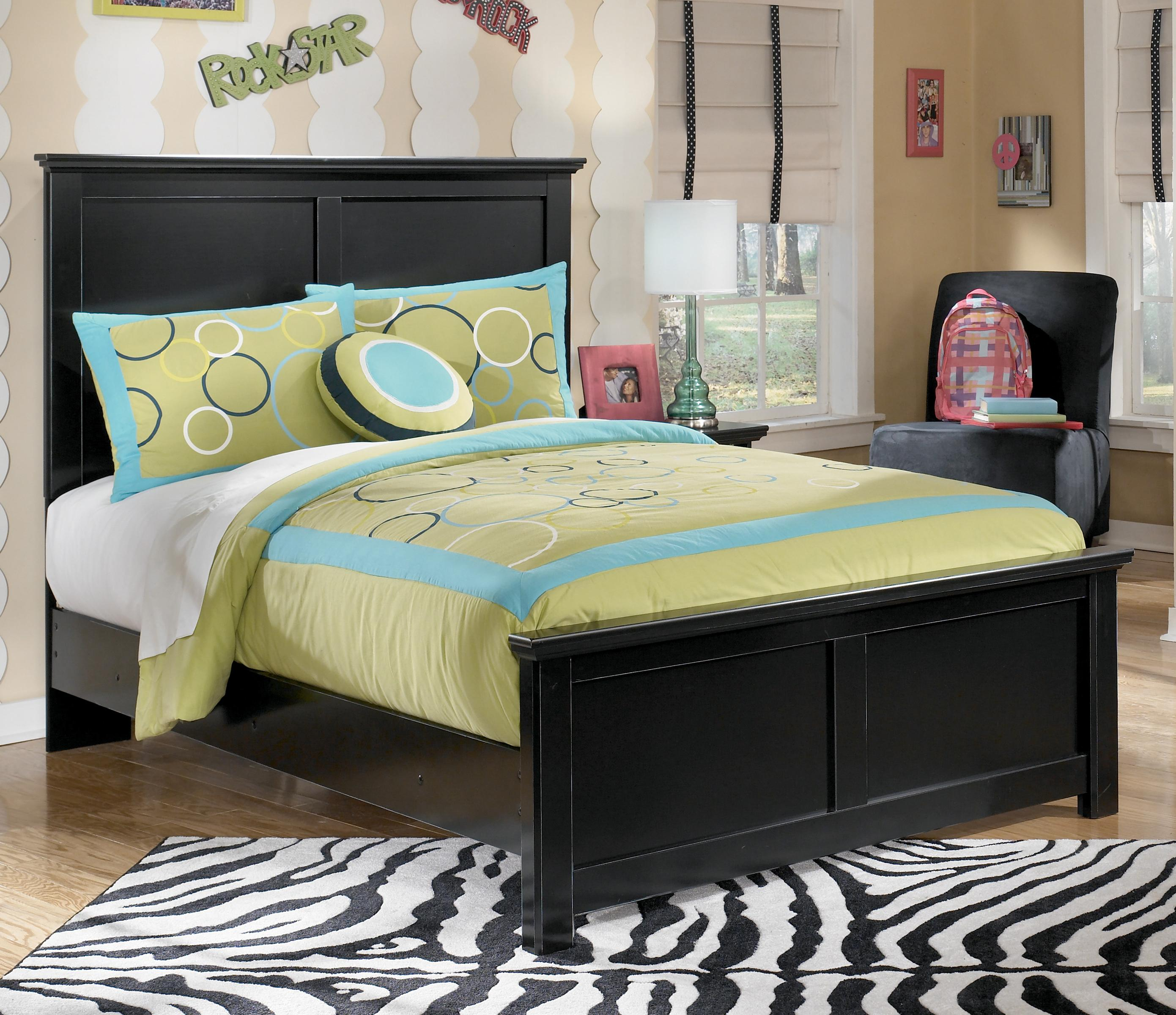 Signature Design by Ashley Maribel Full Panel Bed - Item Number: B138-87+84