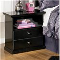 Signature Design by Ashley Maribel One Drawer Night Stand - Item Number: B138-91