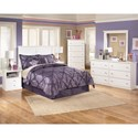 Signature Design by Ashley Bostwick Shoals Full Bedroom Group - Item Number: B139 F Bedroom Group 4