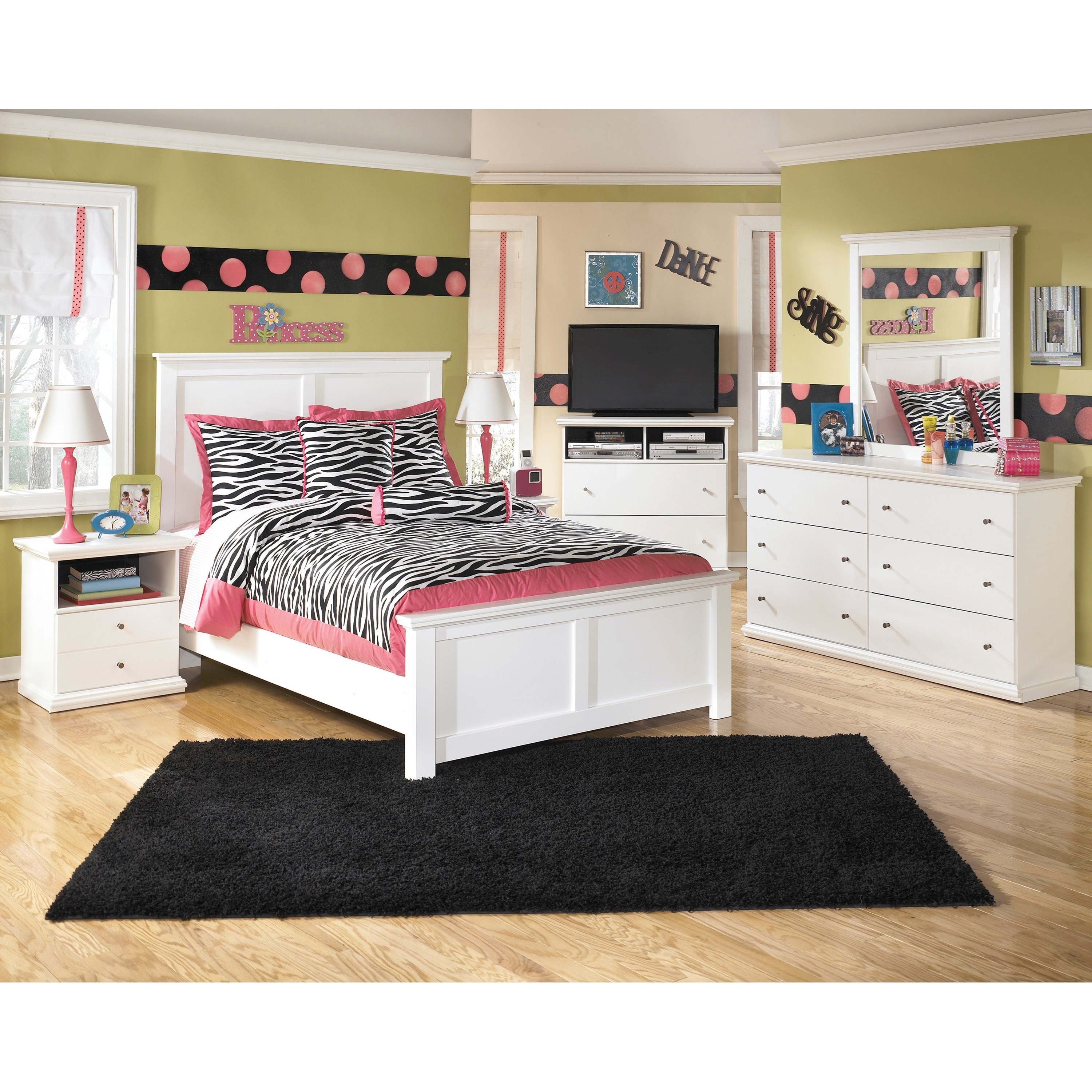 Signature Design by Ashley Bostwick Shoals Full Bedroom Group - Item Number: B139 F Bedroom Group 5