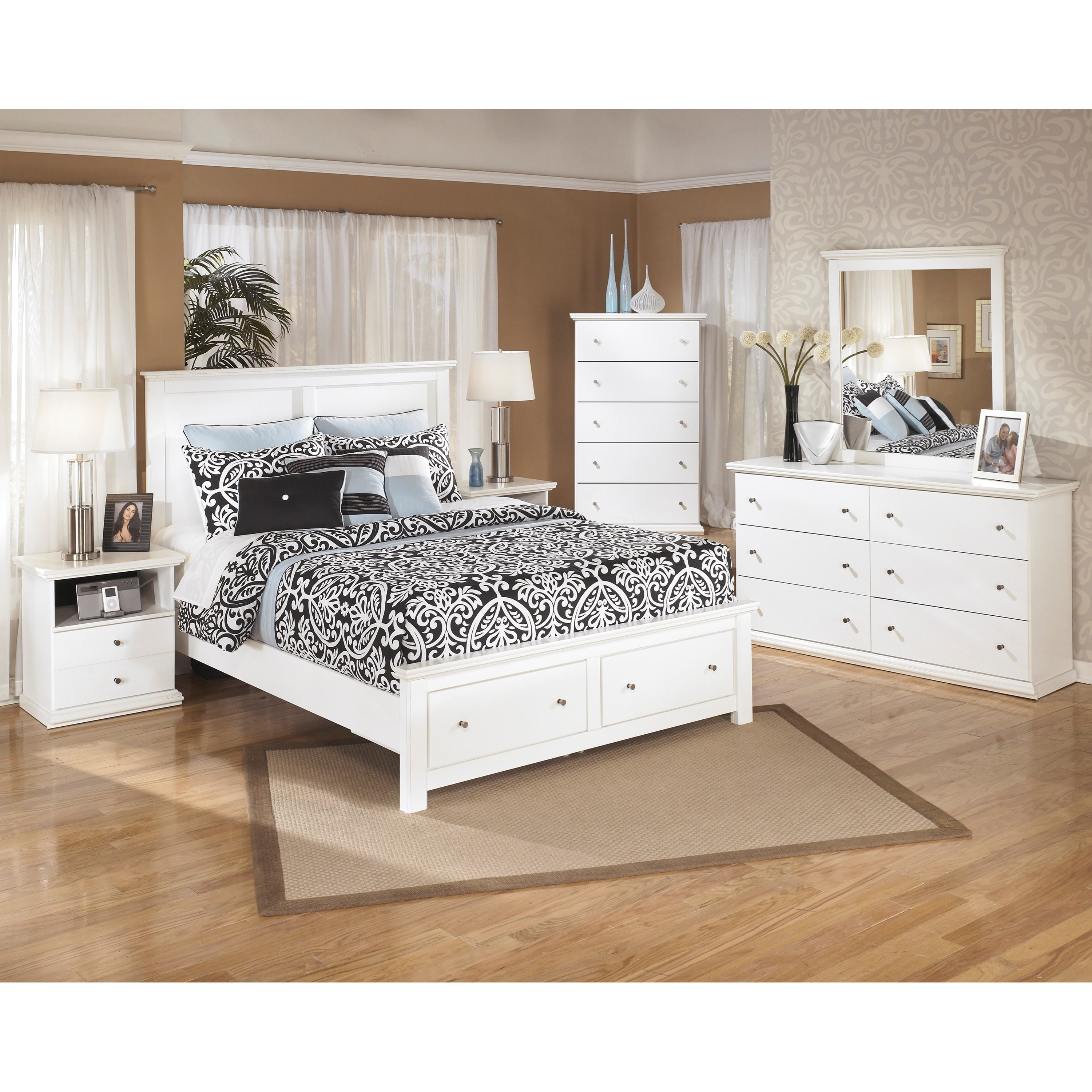 Signature Design by Ashley Bostwick Shoals Queen Bedroom Group - Item Number: B139 Q Bedroom Group 2