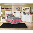 Signature Design by Ashley Bostwick Shoals Twin Bedroom Group - Item Number: B139 T Bedroom Group 4