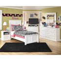 Signature Design by Ashley Bostwick Shoals Twin Bedroom Group - Item Number: B139 T Bedroom Group 5