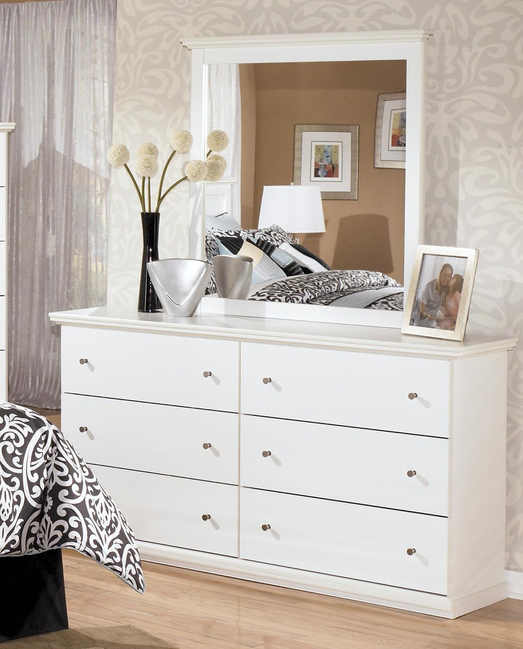 Signature Design by Ashley Bostwick Shoals Dresser & Mirror - Item Number: B139-31+36