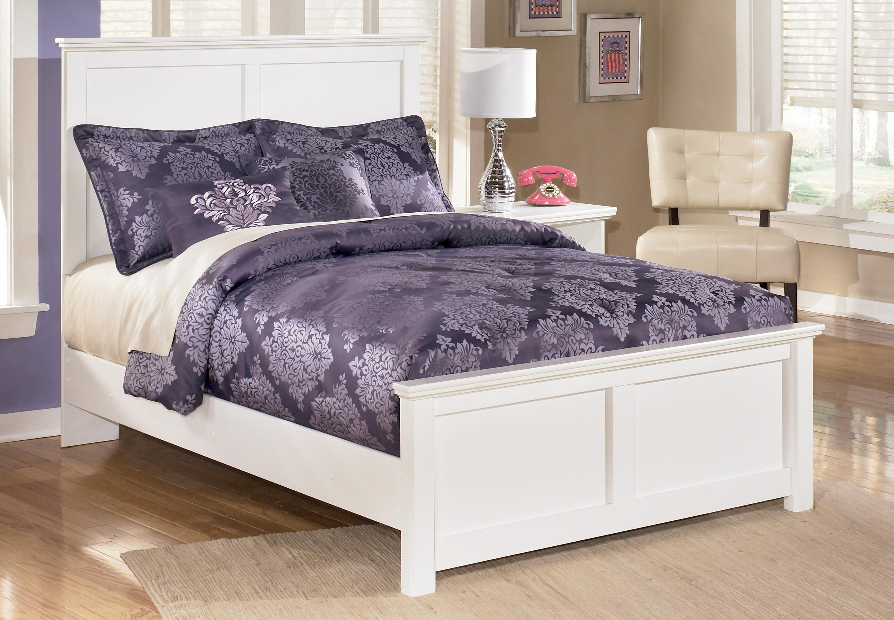 Signature Design by Ashley Bostwick Shoals Queen Panel Bed - Item Number: B139-57+54