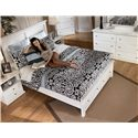 Signature Design by Ashley Bostwick Shoals Queen Storage Bed with 2 Footboard Drawers