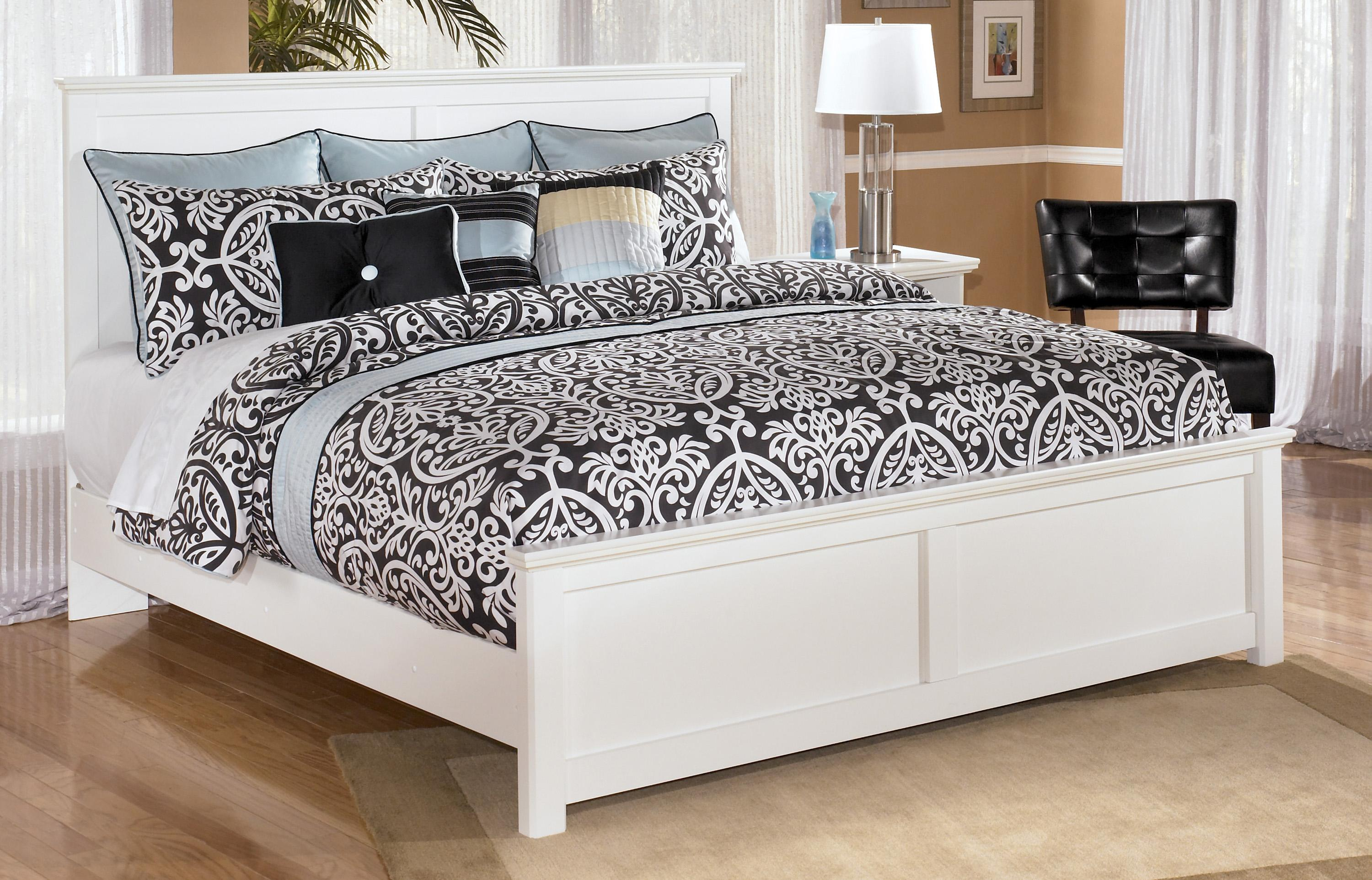 Signature Design by Ashley Bostwick Shoals King Panel Bed - Item Number: B139-58+56