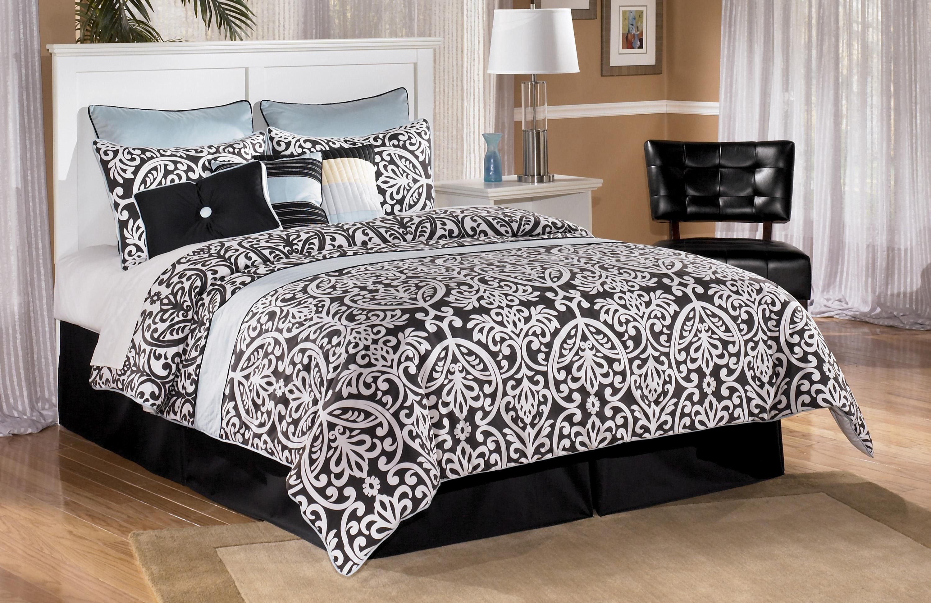 Signature Design by Ashley Bostwick Shoals Full Panel Headboard - Item Number: B139-87