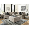 Ashley (Signature Design) Bovarian Stationary Living Room Group - Item Number: 56103 Living Room Group 2