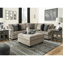 Signature Design by Ashley Bovarian Stationary Living Room Group - Item Number: 56103 Living Room Group 3