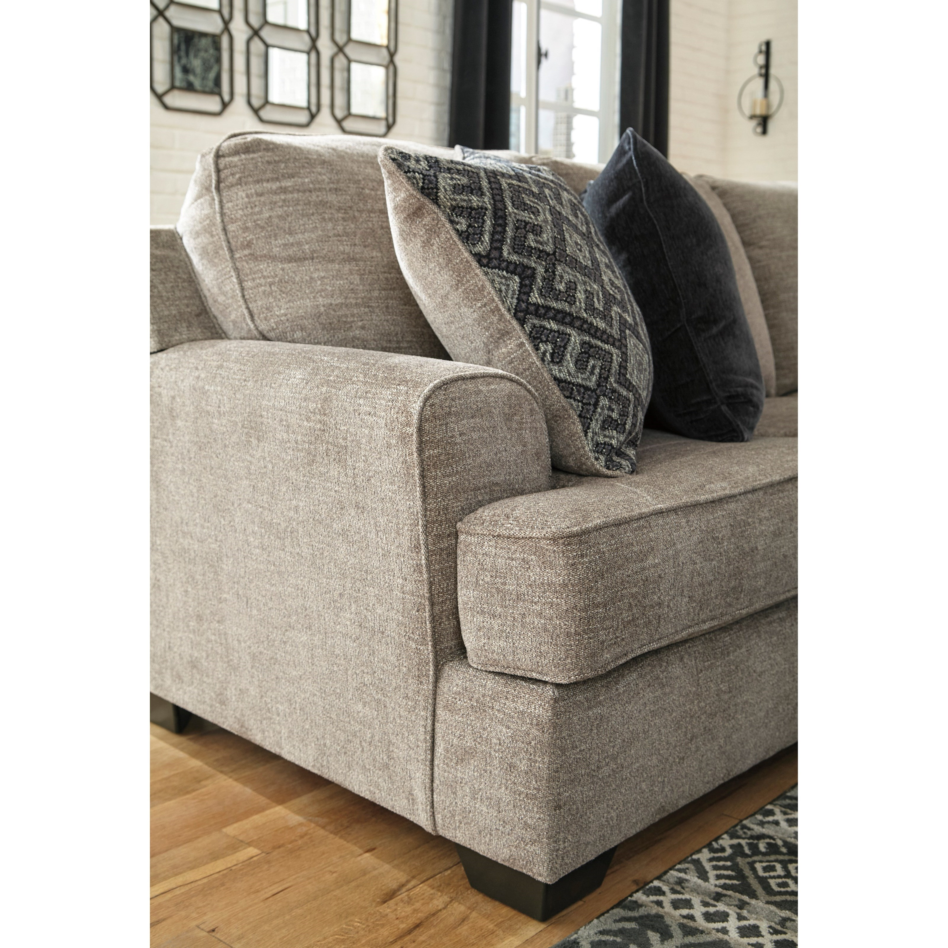 Signature Furniture By Ashley: Signature Design By Ashley Bovarian 3-Piece Sectional With