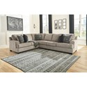 Signature Design by Ashley Bovarian 3-Piece Sectional - Item Number: 5610348+46+56